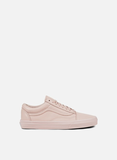 sneakers vans old skool leather mono sepia rose