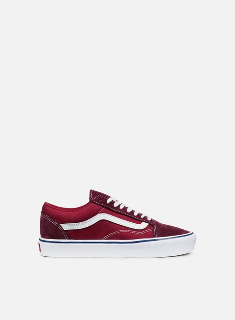 sneakers vans old skool lite throwback port royale tibetan red