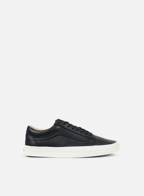sneakers vans old skool lux leather black porcini
