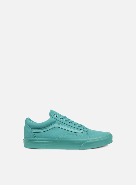 sneakers vans old skool mono bright aqua
