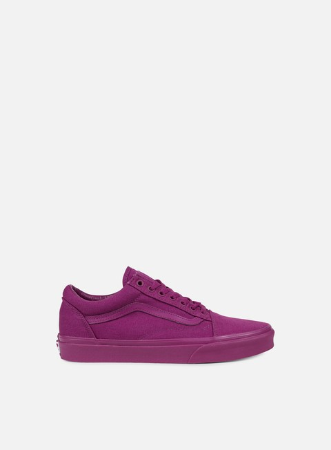 sneakers vans old skool mono deep orchid
