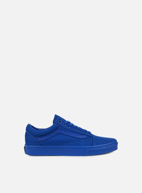 sneakers vans old skool mono nautical blue