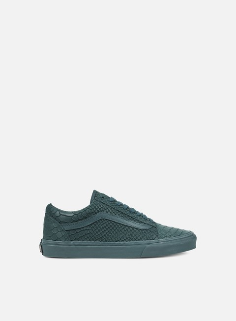 sneakers vans old skool mono python atlantic deep