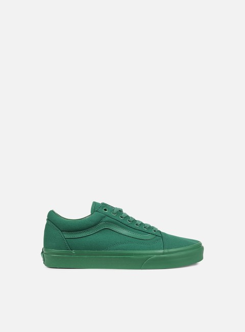 sneakers vans old skool mono verdant green