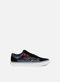 Vans - Old Skool Moroccan Geo, Black/True White 1