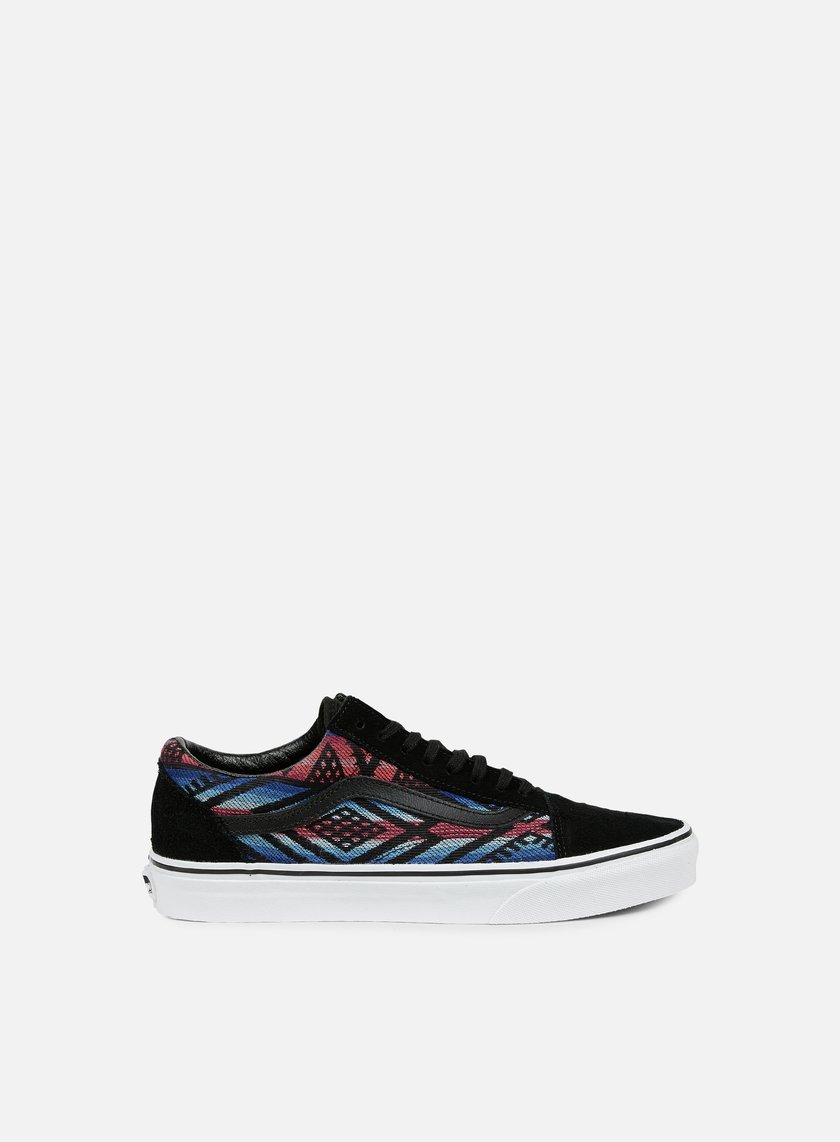 Vans - Old Skool Moroccan Geo, Black/True White