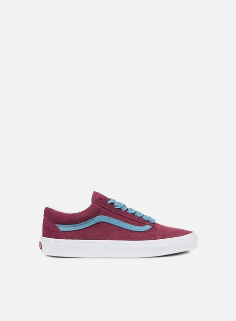 sneakers vans old skool oversized lace cabernet adriatic blue