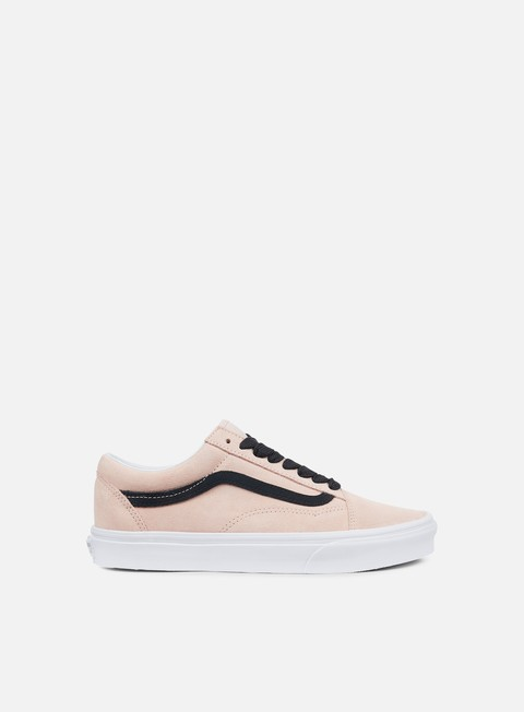 sneakers vans old skool oversized lace sepia rose black