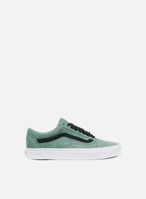 sneakers vans old skool oversized lace silver pine black