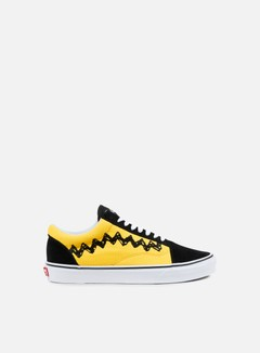 Vans - Old Skool Peanuts, Charlie Brown/Black 1