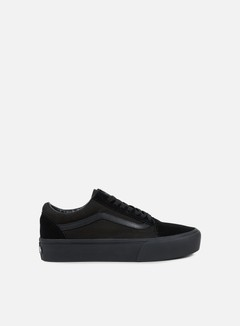 Vans - Old Skool Platform, Black/Black