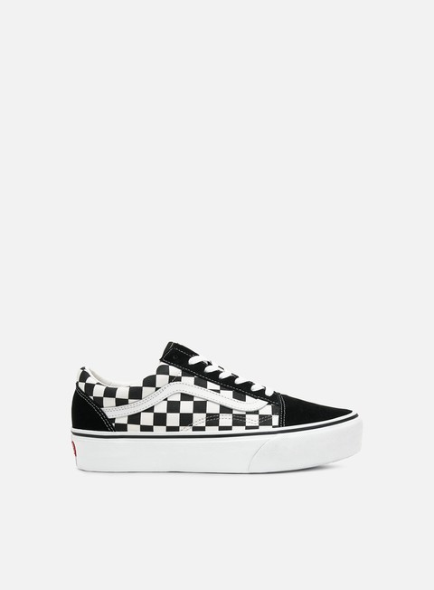 Sale Outlet Low Sneakers Vans Old Skool Platform Checkerboard