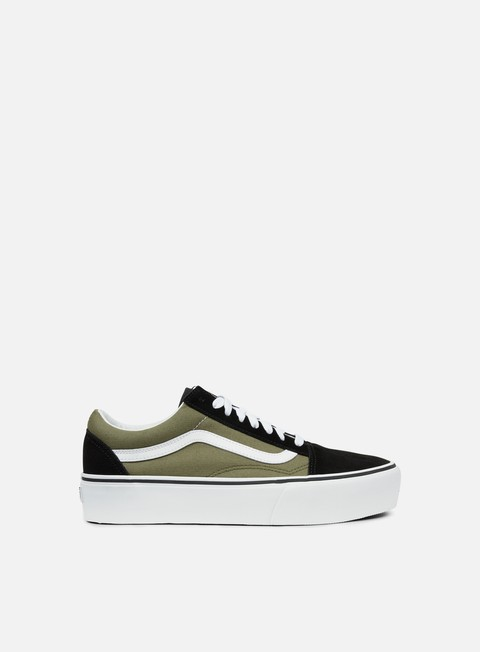 Low Sneakers Vans Old Skool Platform