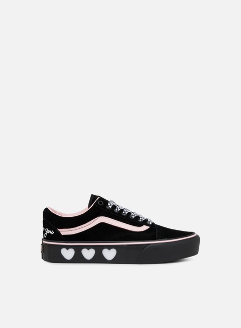 Vans Old Skool Platform Lazy Oaf