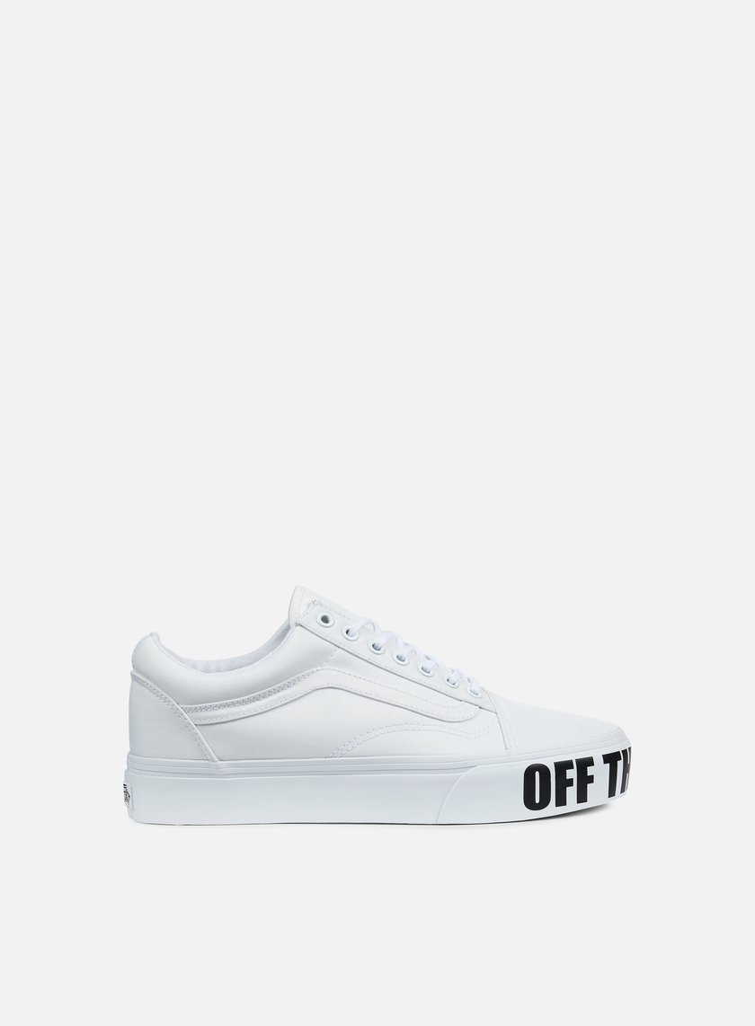 Vans - Old Skool Platform, True White