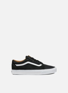 Vans - Old Skool Premium Leather, Black/True White