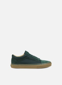 Vans - Old Skool Reissue Coated, Green Gables/Medium Gum 1