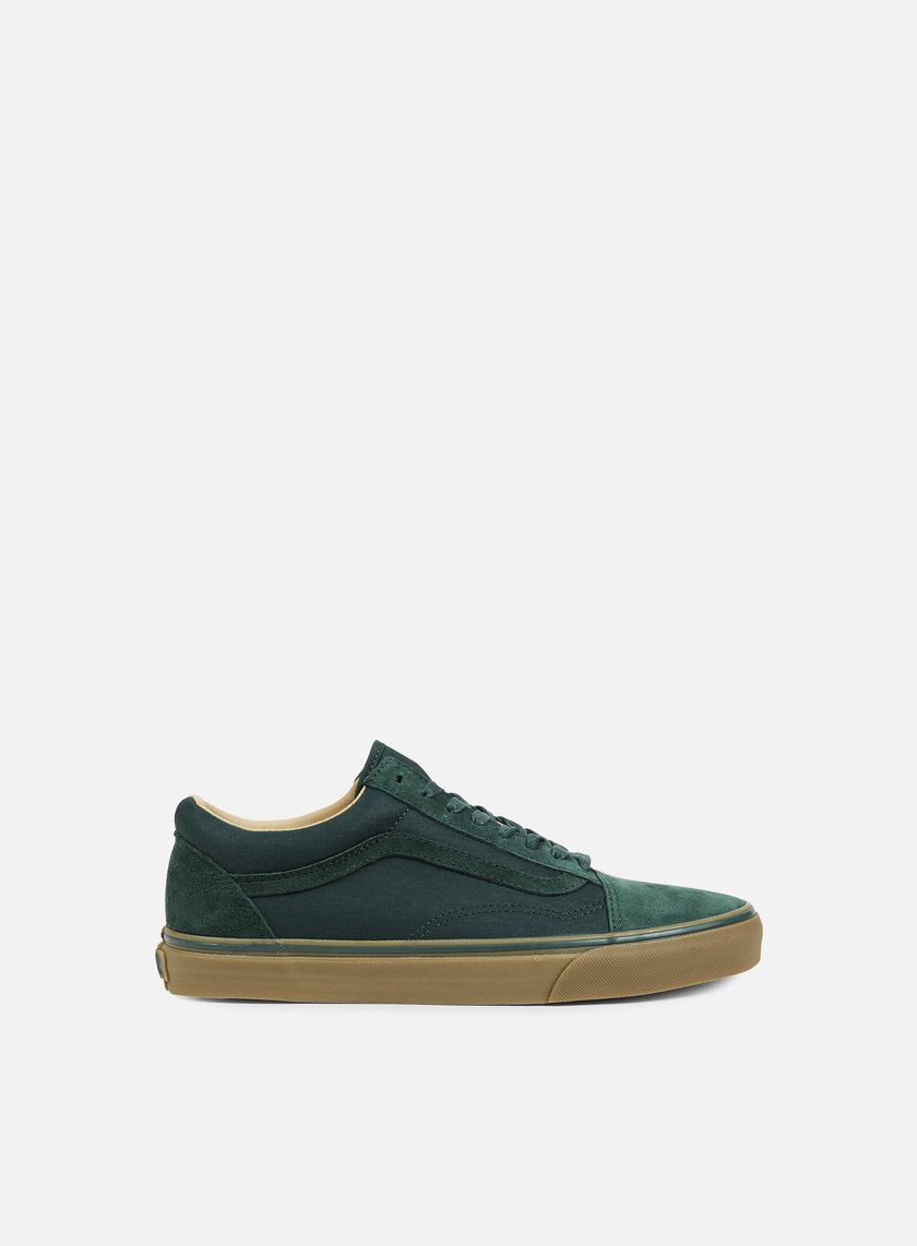 Vans - Old Skool Reissue Coated, Green Gables/Medium Gum