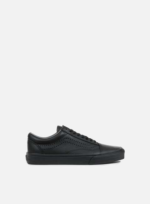 sneakers vans old skool reissue leather black