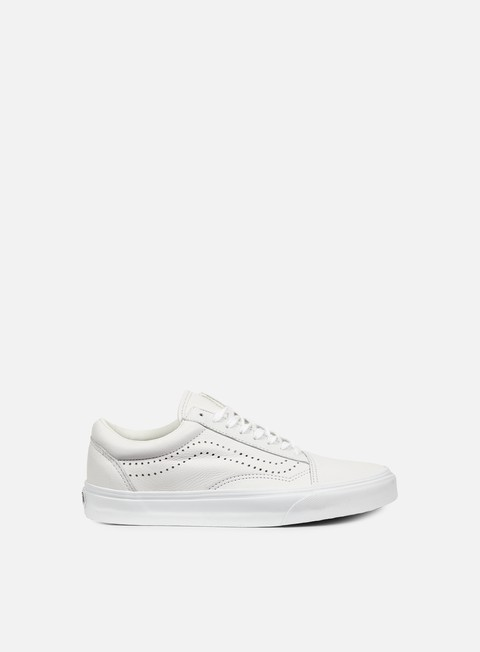 sneakers vans old skool reissue leather white