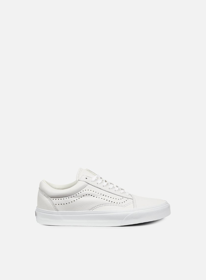 Vans - Old Skool Reissue Leather, White