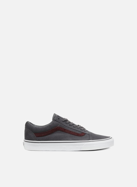 sneakers vans old skool reptile gray port royale