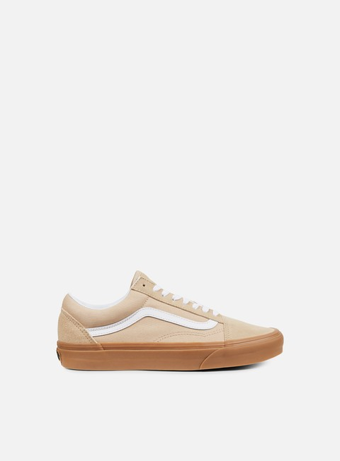 sneakers vans old skool sesame gum
