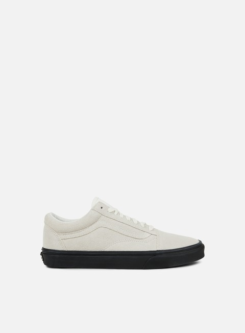 sneakers vans old skool suede blanc de blanc black