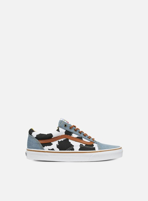 sneakers vans old skool toy story woody denim