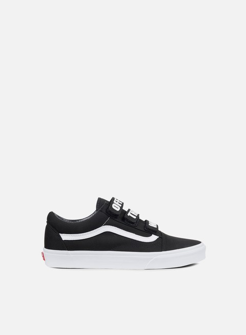 sneakers vans old skool v off the wall black true white