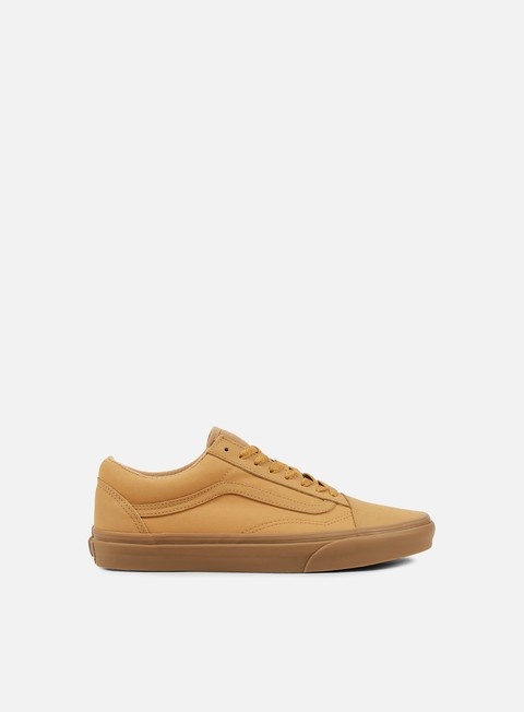 sneakers vans old skool vansbuck light gum mono