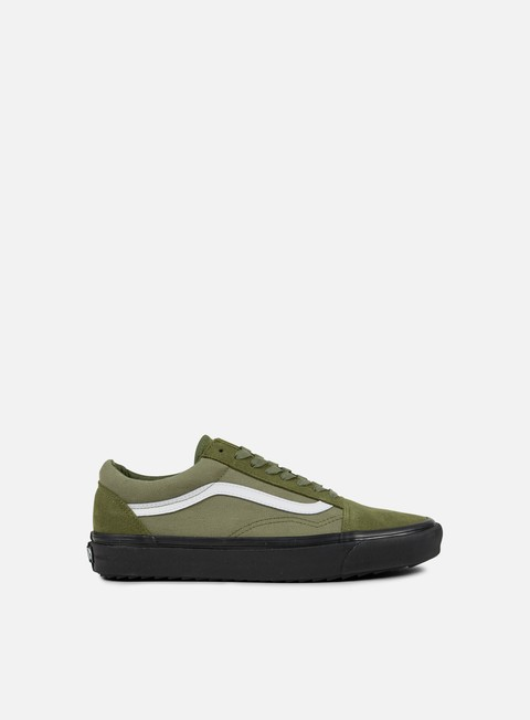 sneakers vans old skool waffles surplus camo winter moss black