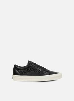 Vans - Old Skool Weave Leather, Black 1