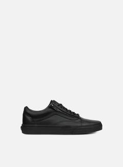 Vans - Old Skool Zip Gunmetal, Black/Black 1