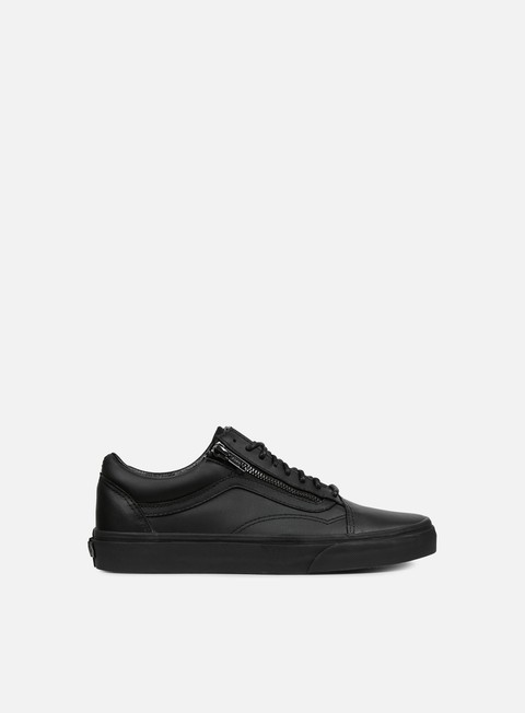 sneakers vans old skool zip gunmetal black black