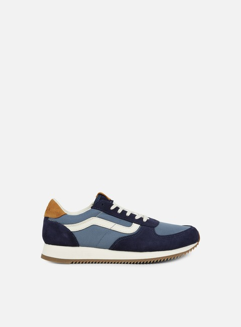 sneakers vans runner 2 tone blue night
