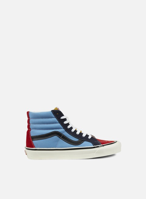 sneakers vans sk8 hi 38 reissue 50th stv multi color