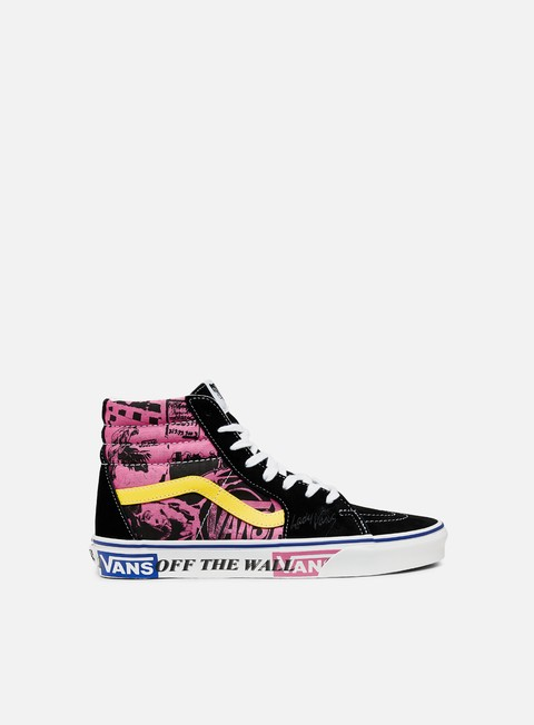 Outlet e Saldi Sneakers Alte Vans Sk8 Hi All Over Lady Vans