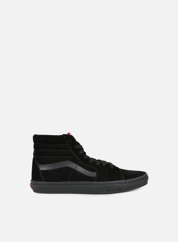 Vans - Sk8 Hi, Black/Black