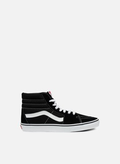 Vans - Sk8 Hi, Black/Black/White