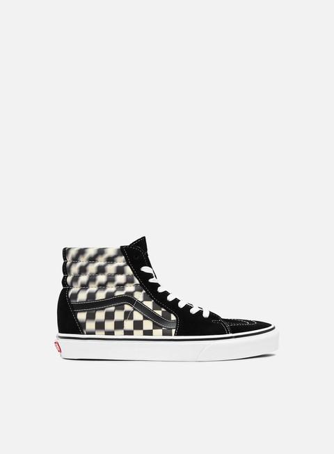 High Sneakers Vans Sk8 Hi Blur Check