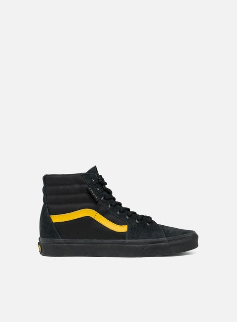 Vans sk8 hi cordura, black sneakers