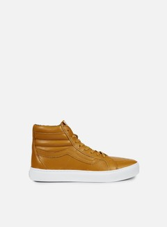 Vans - Sk8 Hi Cup Leather, Gold