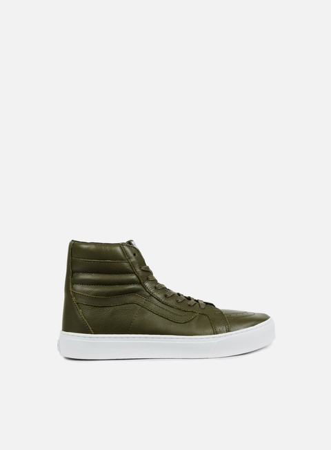 sneakers vans sk8 hi cup leather green