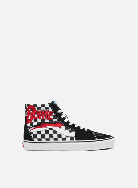 Outlet e Saldi Sneakers Alte Vans Sk8 Hi David Bowie