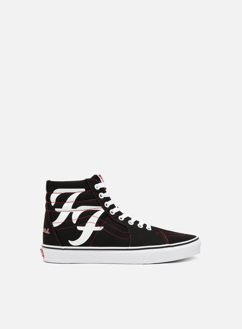 Vans Sk8 Hi Foo Fighters