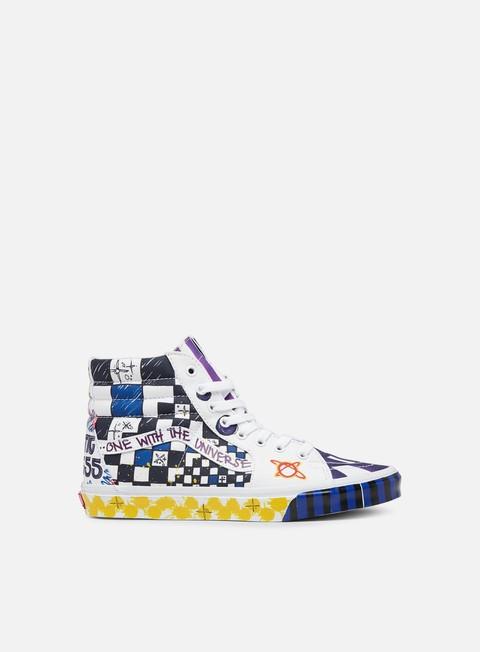 Outlet e Saldi Sneakers Alte Vans Sk8 Hi Galactic Goddess