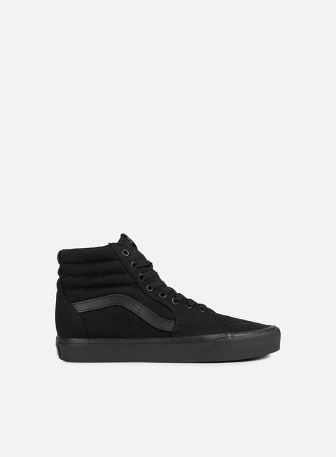 sneakers vans sk8 hi lite black black