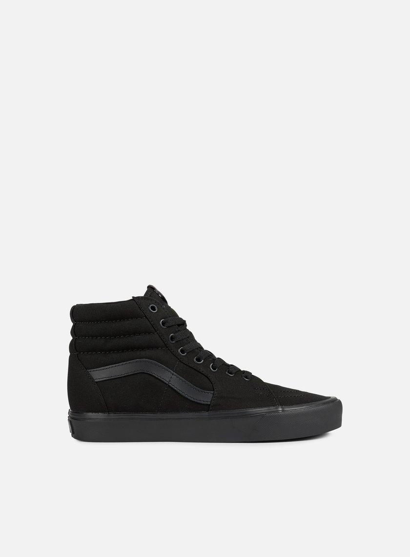 Vans - Sk8 Hi Lite, Black/Black
