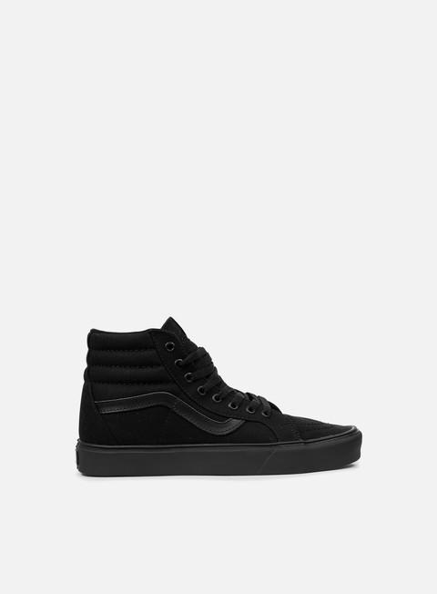 sneakers vans sk8 hi lite black black black